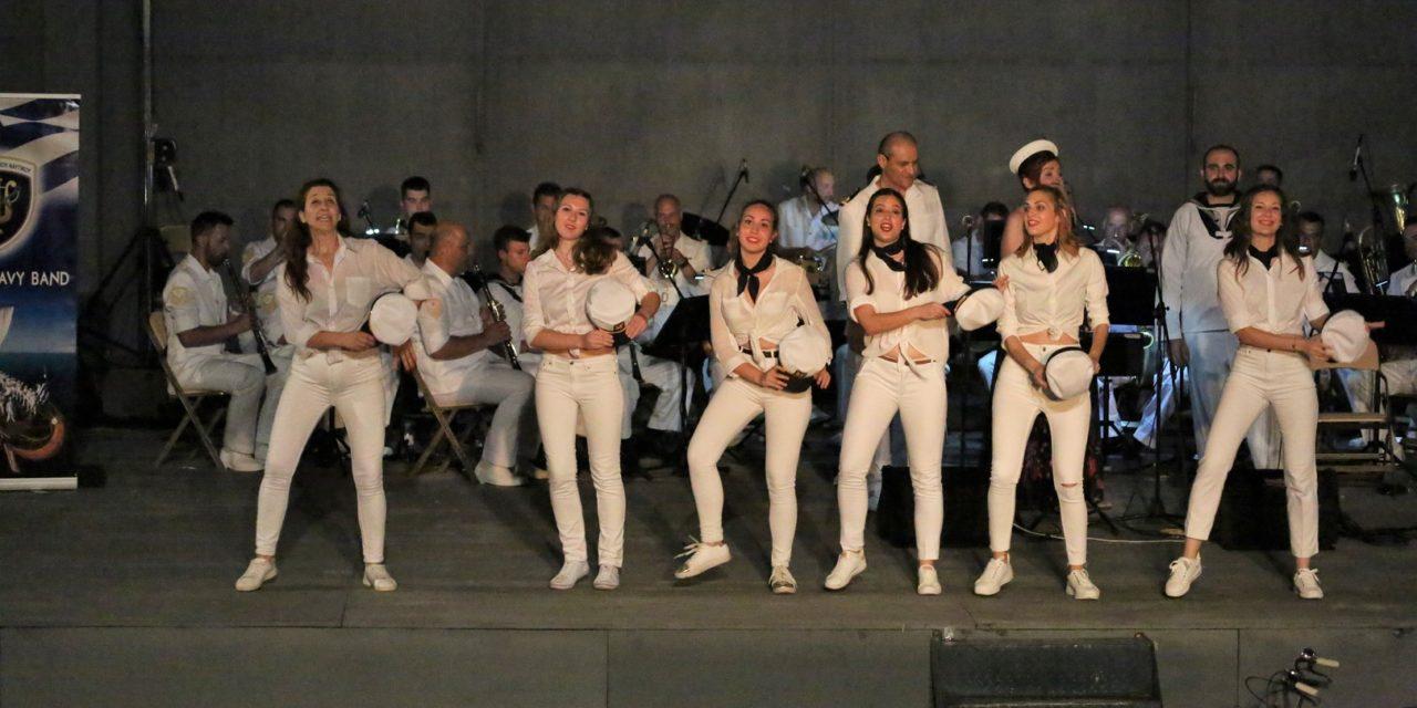 """Μια ακόμα πρωτοβουλία του Δικτύου """"ΠΕΡΡΑΙΒΙΑ"""":""""Απόβαση"""" της Μπάντας του Πολεμικού Ναυτικού στα Φάρσαλα Παρασκευή  14 Ιουνίου 2019 και ώρα 9.30 μ.μ. στον αύλειο χώρο του Πολιτιστικού Κέντρου- Τίτλος της φετινής συναυλίας """"Ραντεβού στα Sixties"""""""