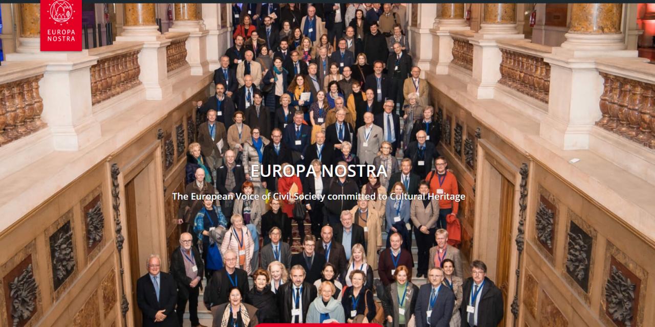 Στις κορυφαίες Οργανώσεις της Κοινωνίας των Πολιτών  της Ευρώπης το Δίκτυο «ΠΕΡΡΑΙΒΙΑ»-Πλήρες μέλος του Ευρωπαϊκού Δικτύου EUROPA NOSTRA-Πλούσιο το έργο του Δικτύου για το 2020 παρά την πανδημία